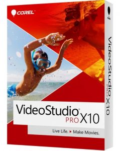 Corel Video Eiditor Pro X10