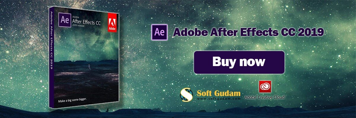 Adobe after effects cc 2019 Buy Now