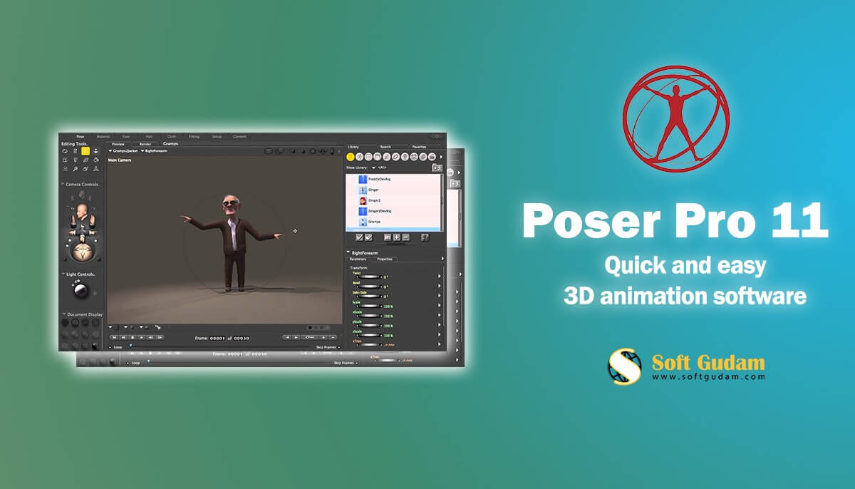 Top Review In Poser Pro 11 | 3D Animation software