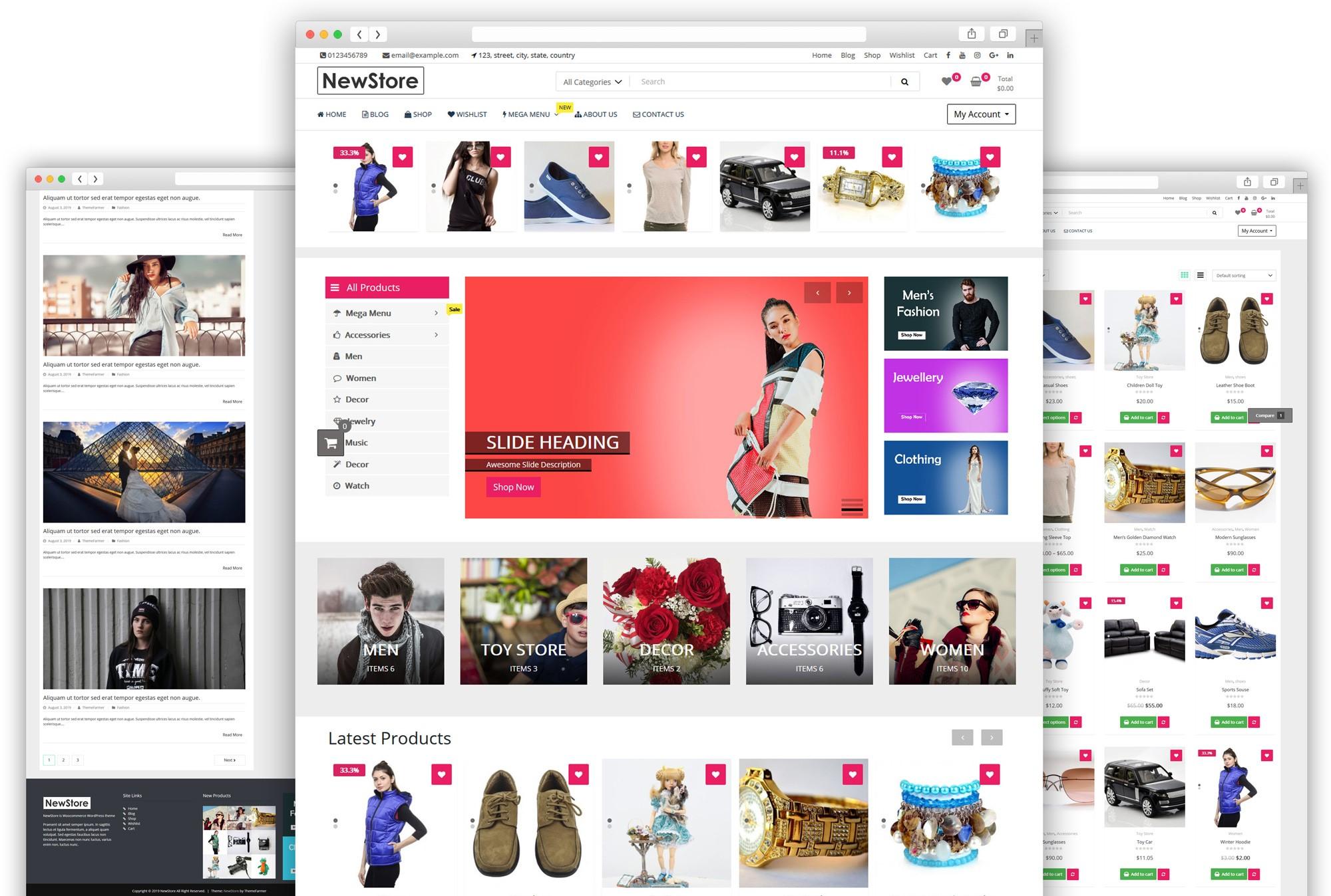 New Store WordPress Theme