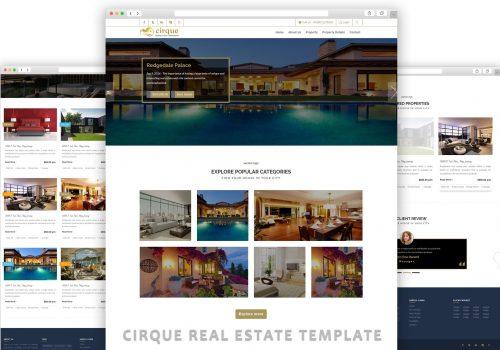 cirque real estate template