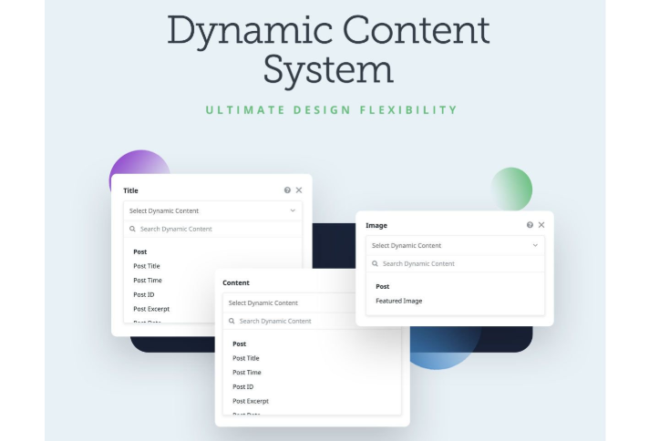 avada dynamic content system