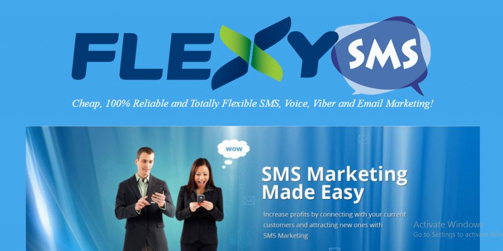 Flexy sms marketing tools