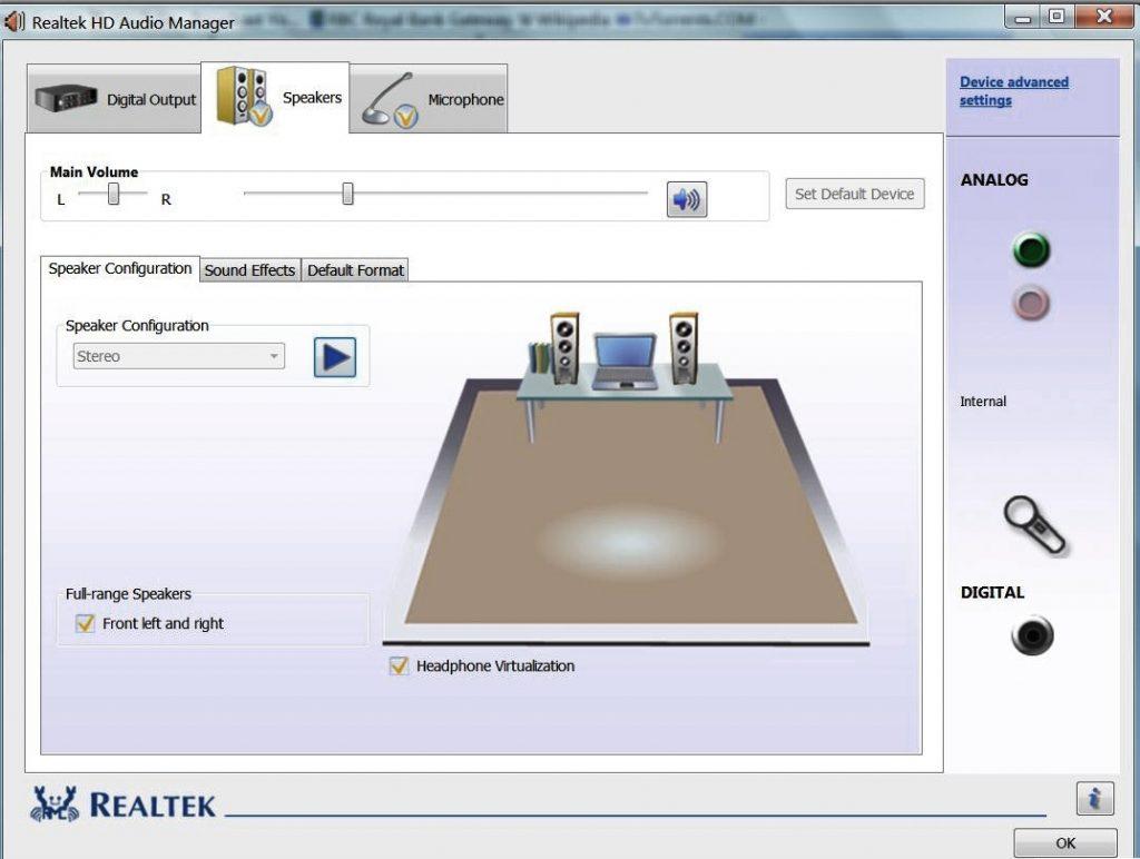 Realtek High Definition