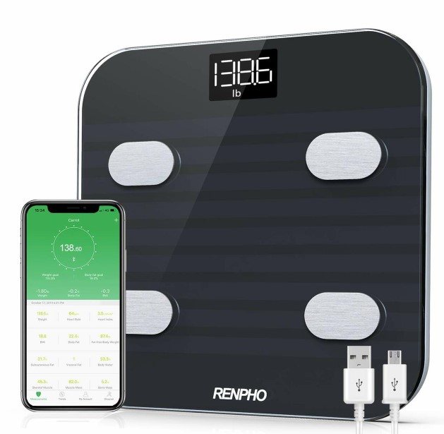 Renpho Bluetooth Rechargeable smart scale