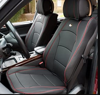 FH group, ultra comfort leatherette front seat cushions