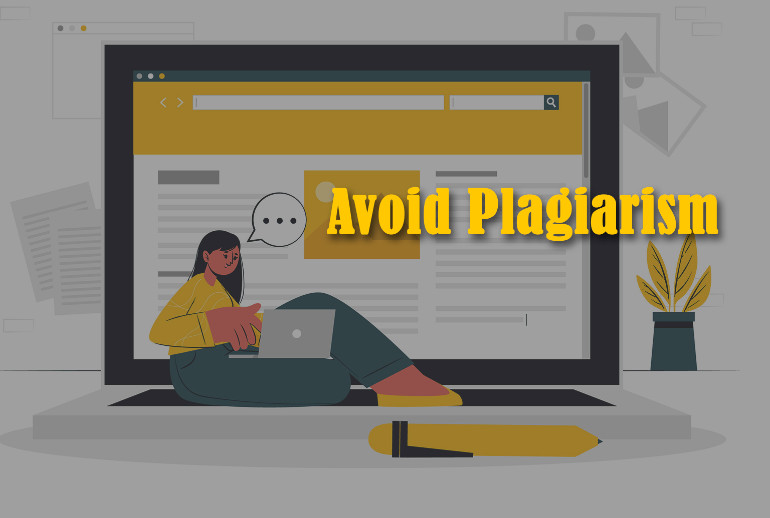 Avoid Plagiarism for SEO