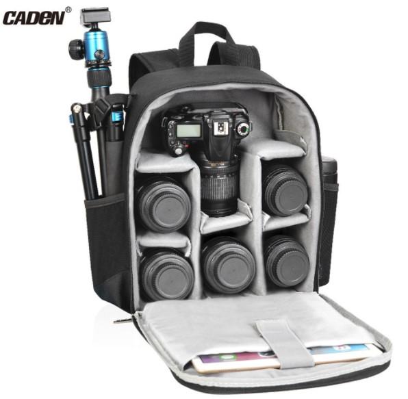 Caden Camera Backpack Bag Professional for DSLR/SLR Mirrorless Camera