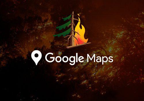 Google Wildfires Maps