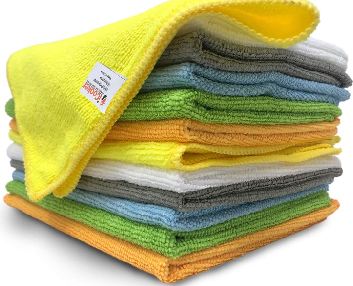 Microfiber Cleaning Cloths 12 Pack