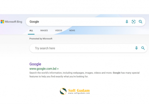 Most Searched Google on Bing